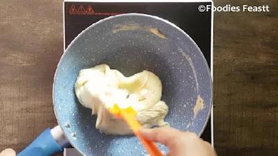 Instant milk peda