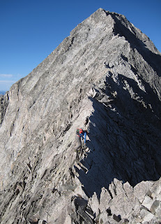 Capitol Peak a 14er in Colorado's deadly Elk Range