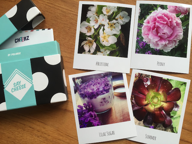 Cheerz Box and Retro Prints