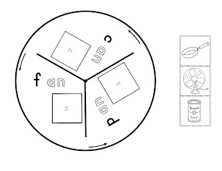Pam Hyer: Wheel Books for Word Families