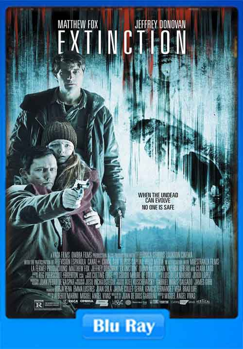 Extinction 2015 720p BluRay 600MB x264 Poster