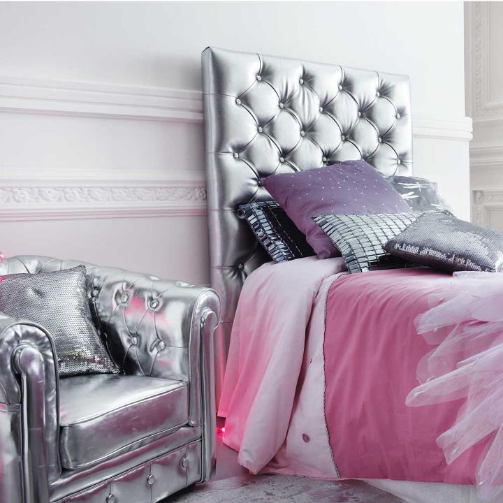 Cabeceras chesterfield bedhead headboard by dormitorios for Recamaras con cabecera tapizada