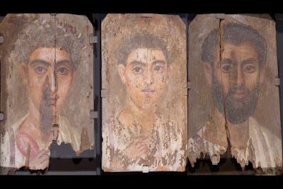 Researchers discover ancient clues in mummy portraits