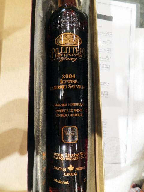 Pillitteri Cabernet Sauvignon Icewine 2004 (89 pts)