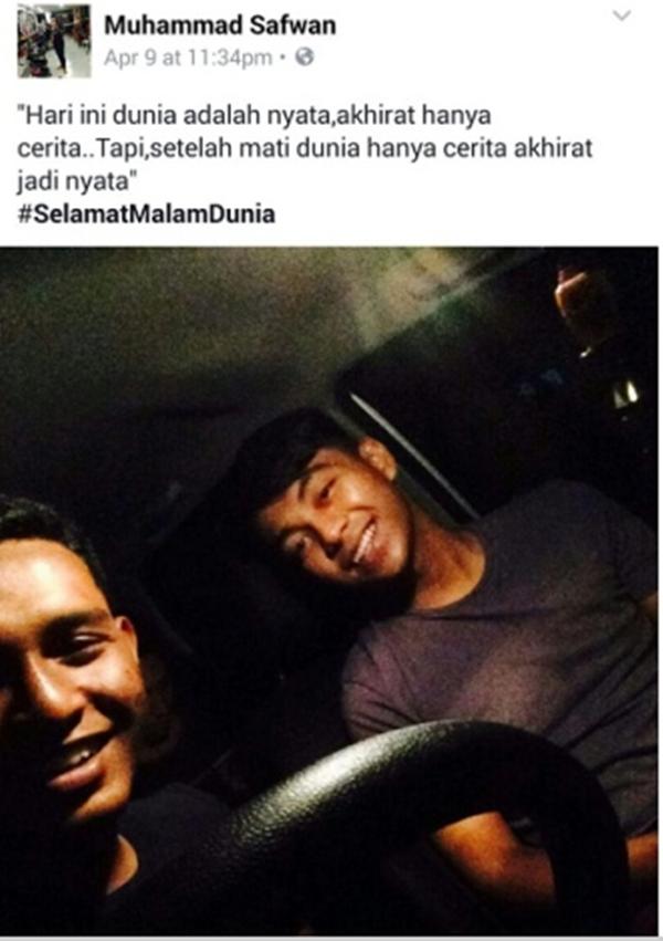 SEBAK! Status Terakhir Dua Sepupu Ini Sebelum Maut Kemalangan Sangat Menyayat Hati Cetus Perhatian Netizen