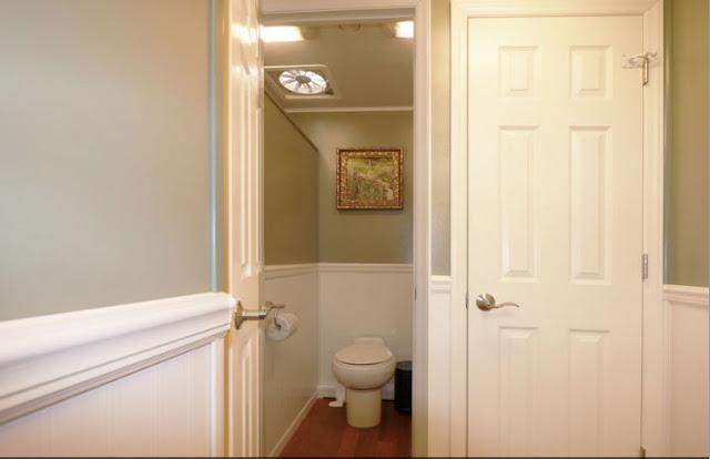 Inside Women's Restroom