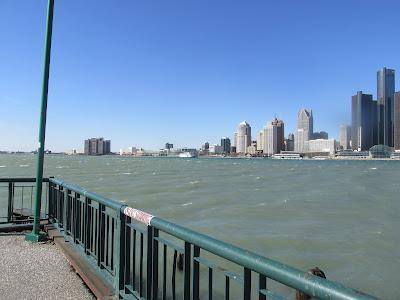 Detroit River (Windsor, Ontario side)