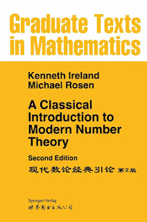 A Classical Introduction to Modern Number Theory 2nd edition