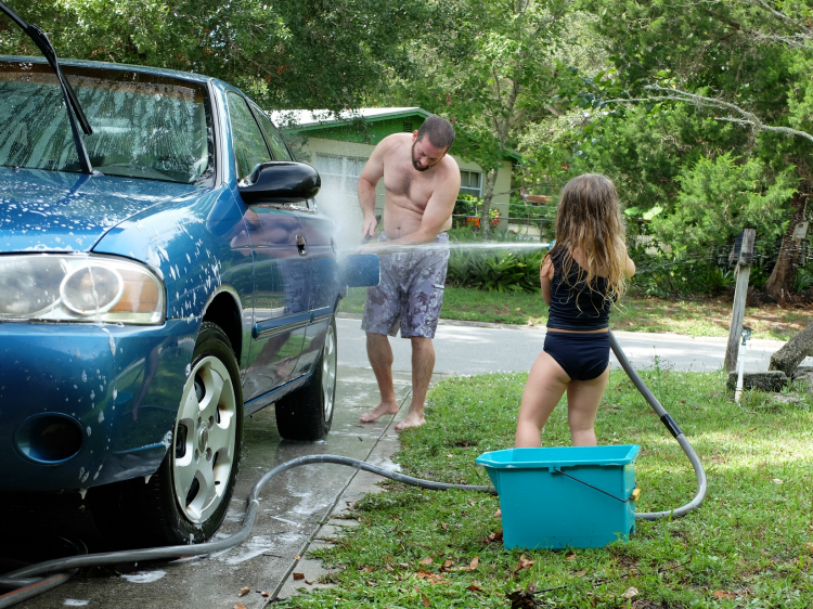 Sweet Turtle Soup - Summer Bucket List | car wash