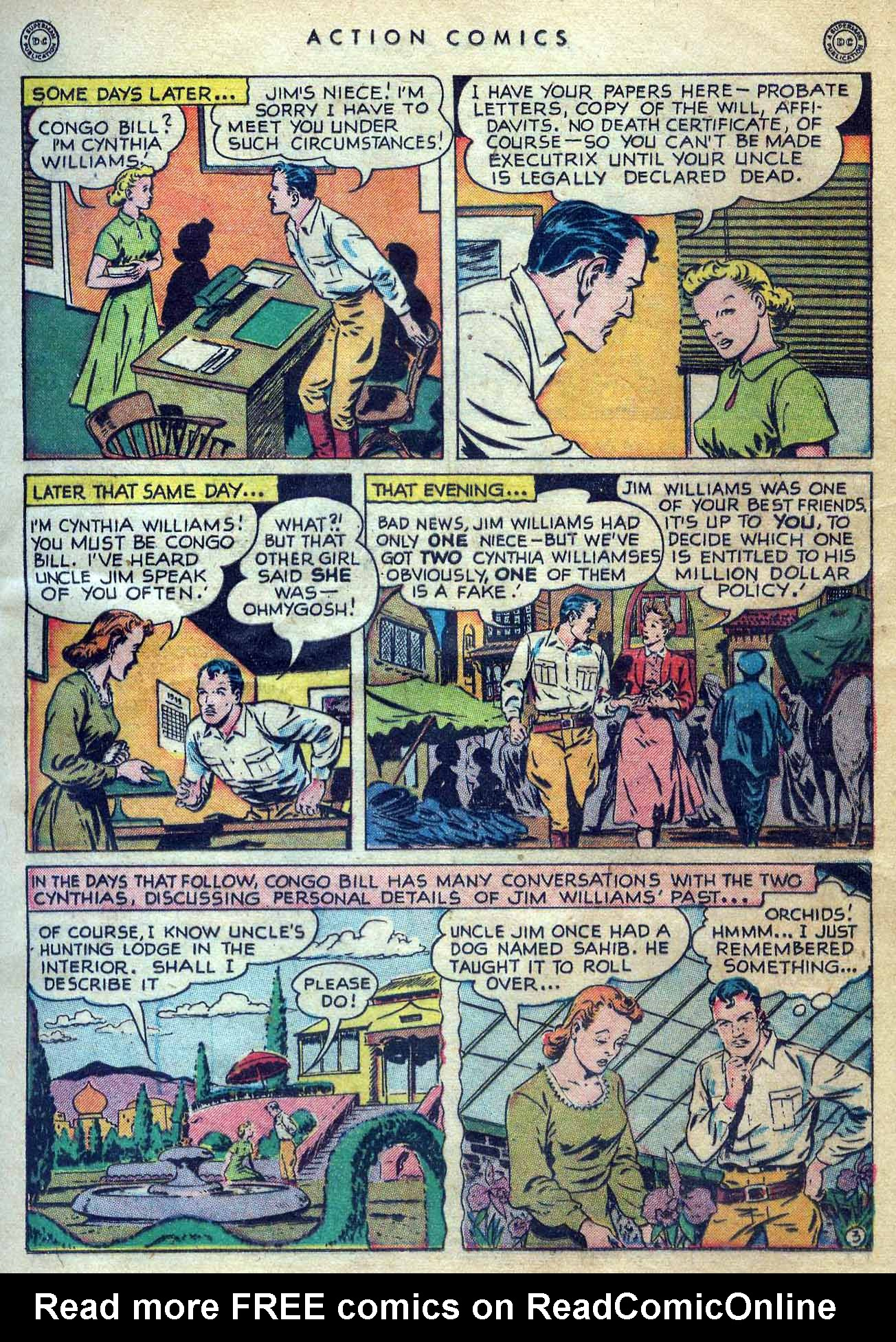 Read online Action Comics (1938) comic -  Issue #131 - 19