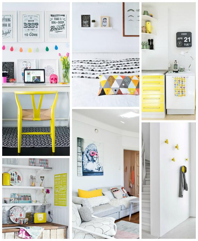 nordic style yellow