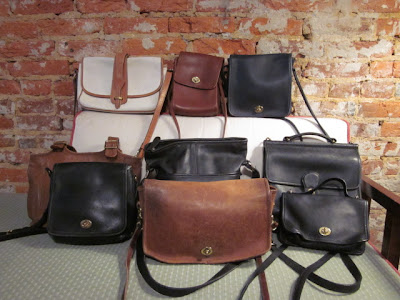 New Vintage Coach Bags In Assorted Styles