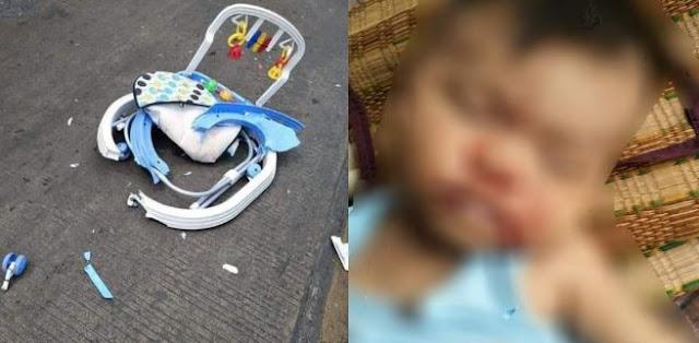 Bayi Tewas Ditabrak Truck Karena Ibu Ke'Asyikan Ngobrol Dengan Tetangga Tampan