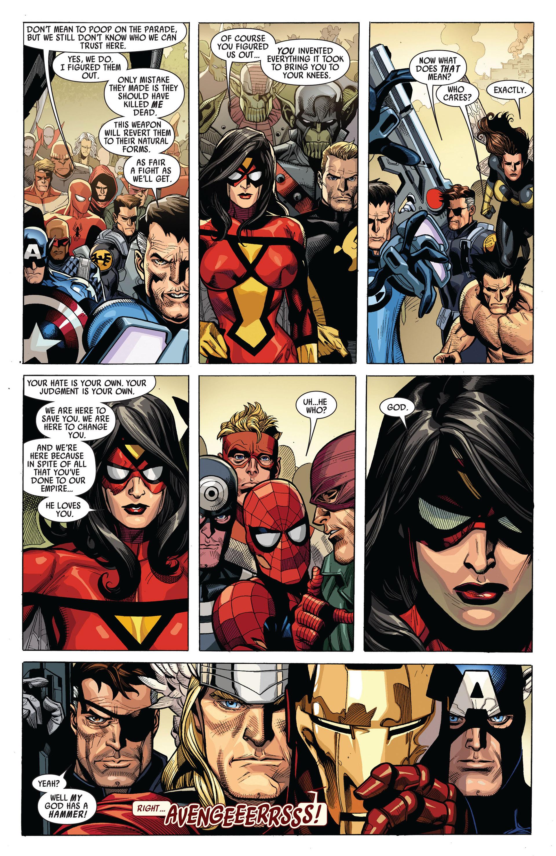 Read online Secret Invasion comic -  Issue #6 - 19