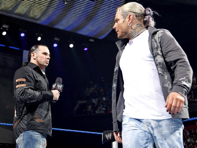 Wwe Jeff Hardy And Mat...
