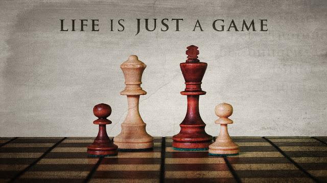الحياة لعبة