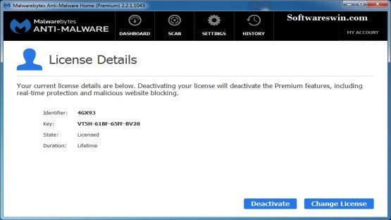 Malwarebytes Anti-Malware 2.2.1 Screenshot 2