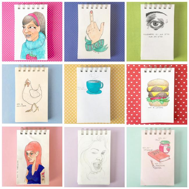 Sketchbook Round-Up: Volume 28 | Yeti Crafts