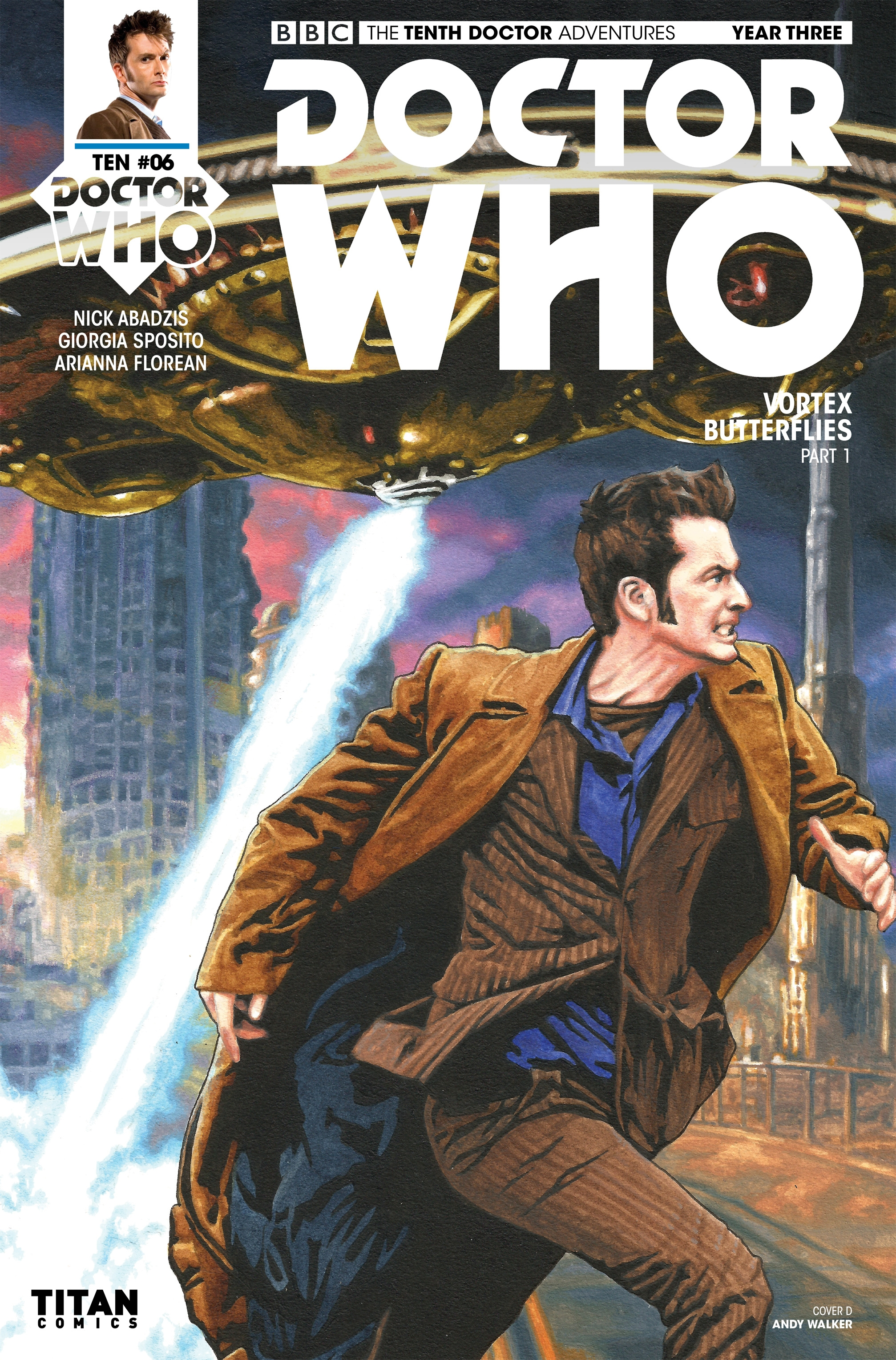 Read online Doctor Who: The Tenth Doctor Year Three comic -  Issue #6 - 4