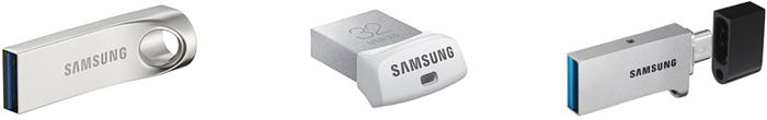 サムスン USBメモリの特徴は高級感のある金属ボディ