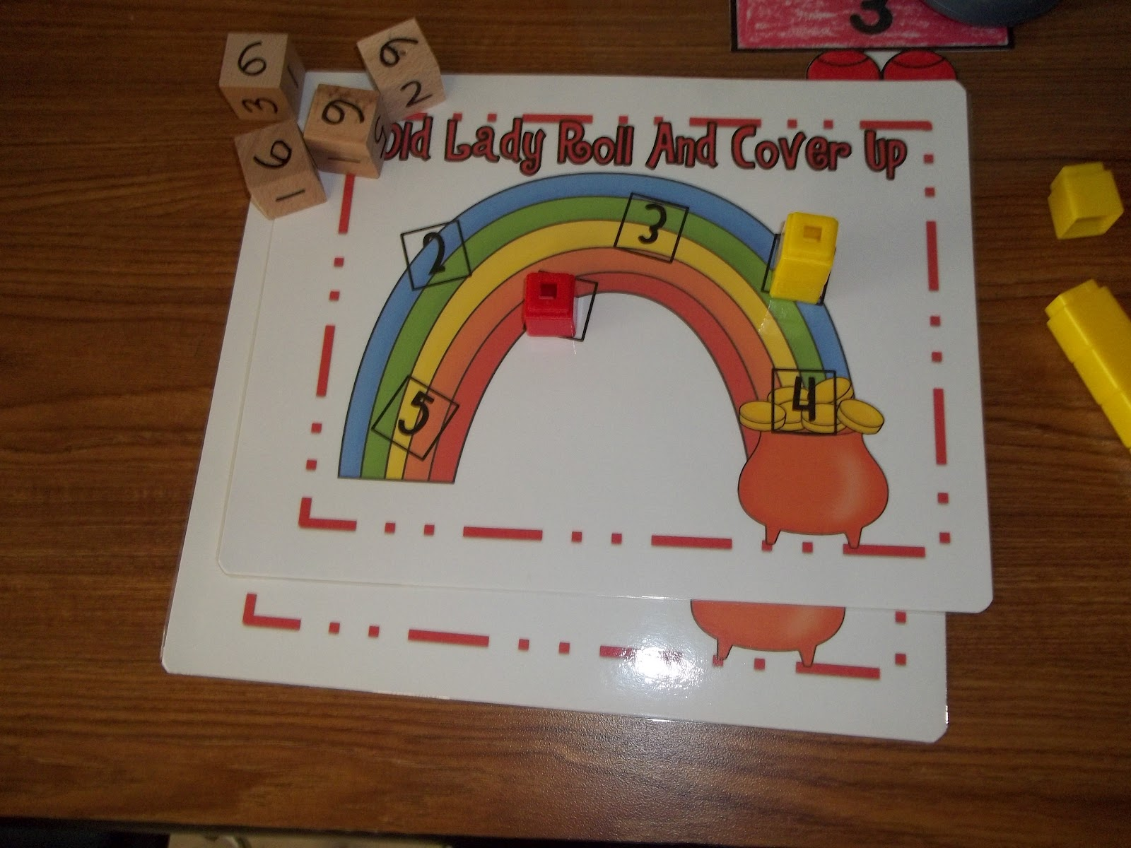 Math Tubs In Kindergarten More Printing Numbers