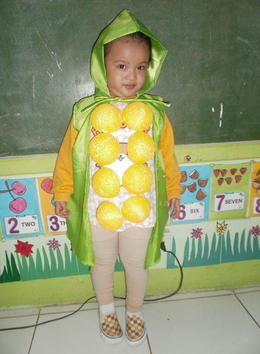 Philippines Nutrition Costume Boy