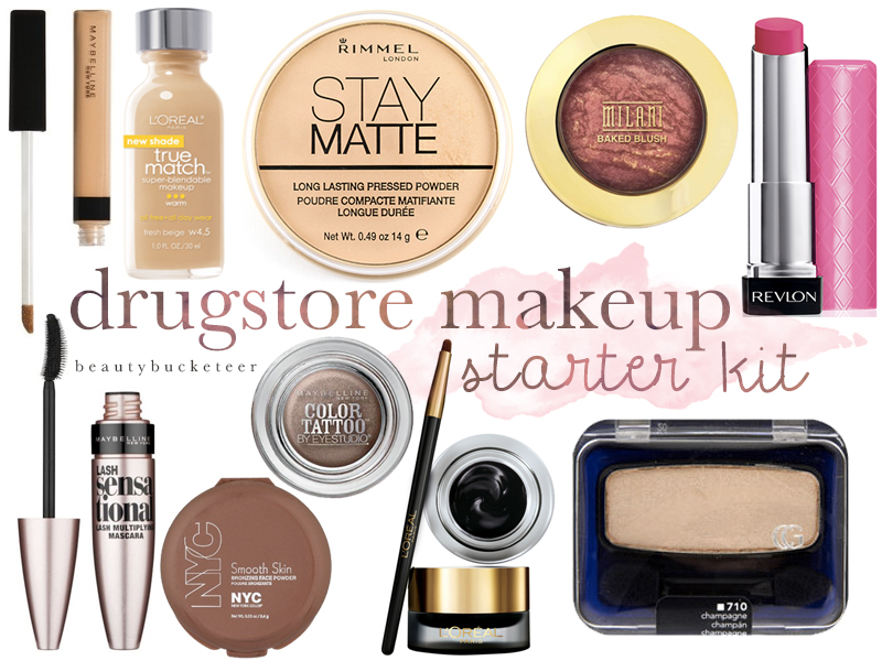 Beauty Bucketeer - Affordable Drugstore Makeup Starter Kit