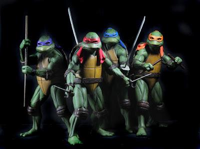 """Michelangelo 1/4 de """"Teenage Mutant Ninja Turtles (1990)"""" - Neca"""