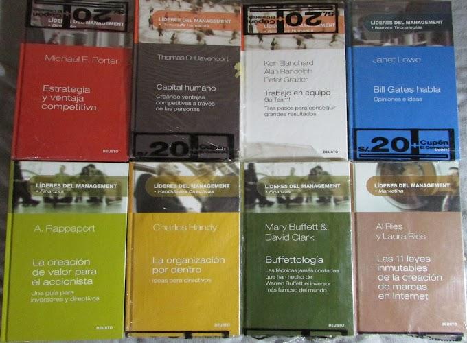 Libros Líderes del Management (colección DEUSTO)