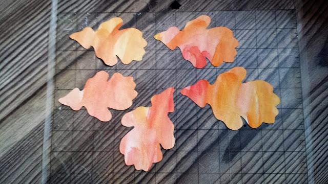 Blätter plotten für den Herbst