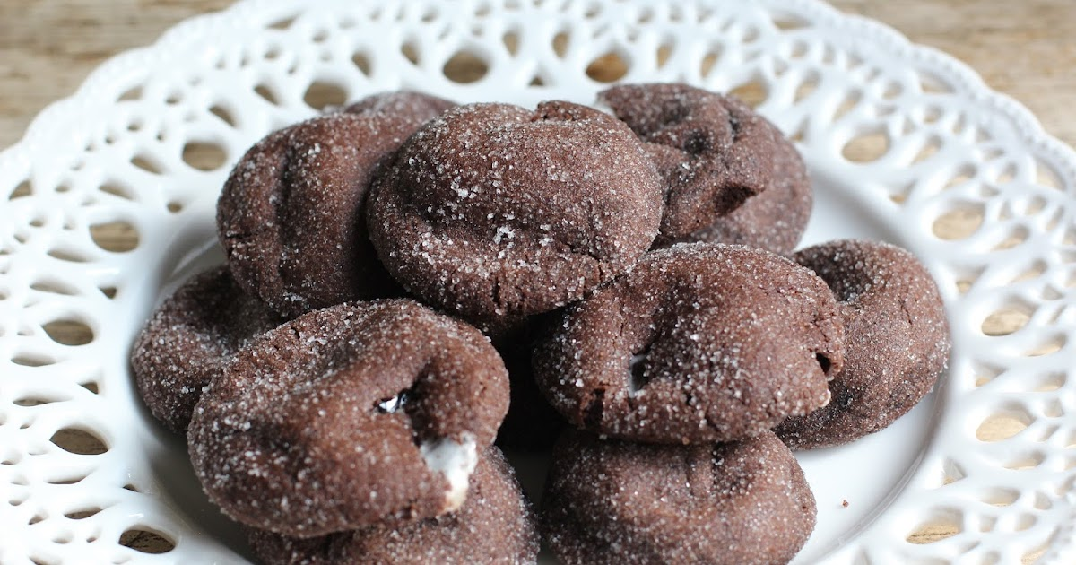 Cake By Mary: Chocolate Marshmallow Cookies
