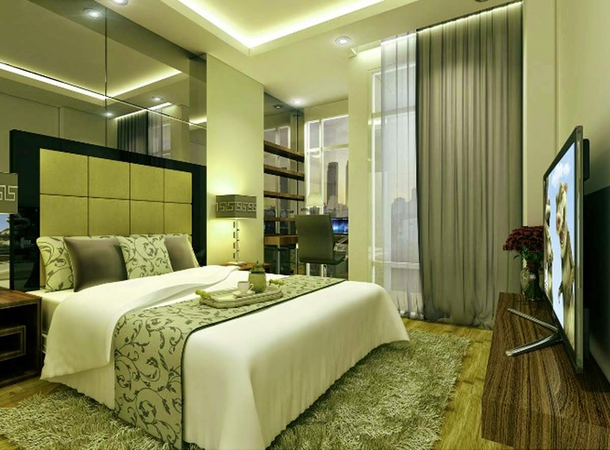 Modern bedroom interior design 2015 home inspirations for Design interior apartemen 1 bedroom