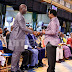 Liberia's presidential candidate George Weah attends T.B Joshua's church (PHOTOS)