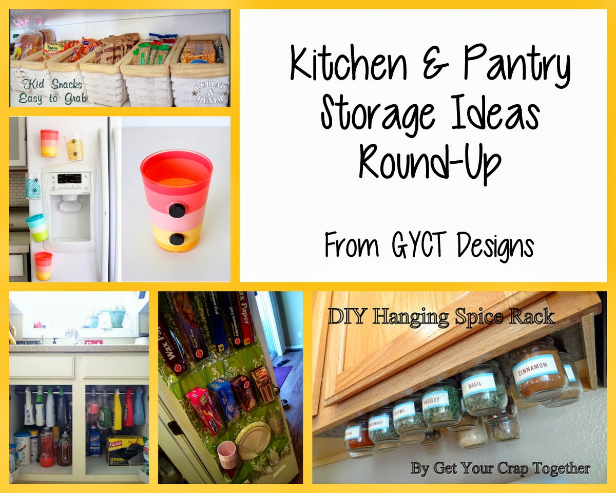 Food Organization Ideas for Organize Me! Sizzlin' Summer