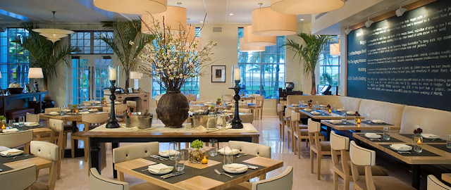 Restaurante BLT Steak House na Ocean Drive em Miami