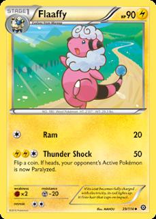 Flaaffy Steam Siege Pokemon Card