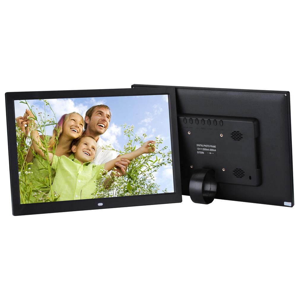 Bingkai Frame Foto Digital 15 inch - Black