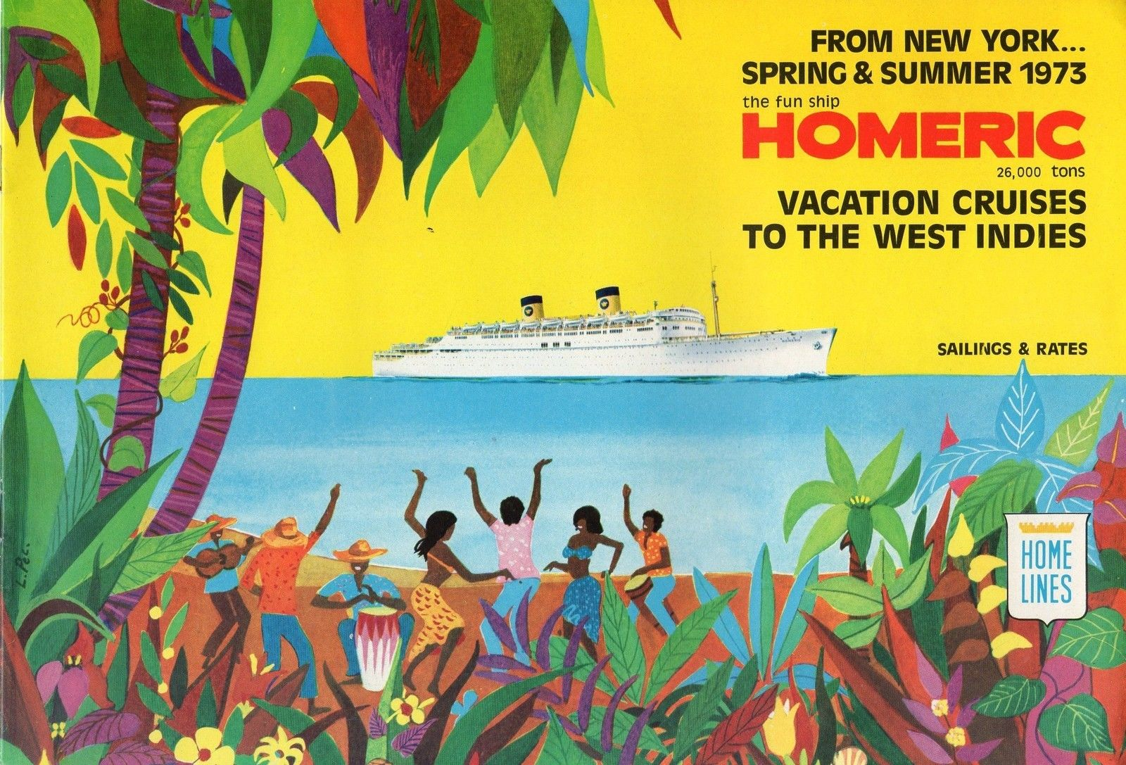 Nicks Cruise Corner Remembering Home Lines Homeric On The Rd - Homeric cruise ship