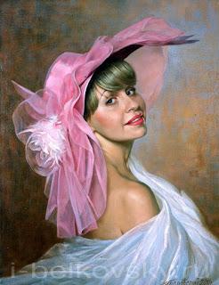 Cuadros Hermosas Mujeres Pintadas