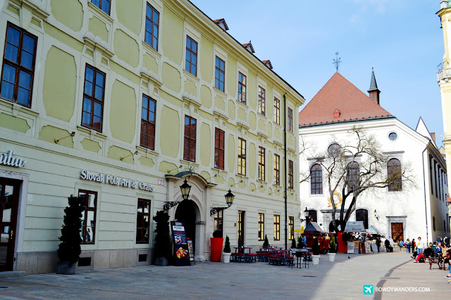 bowdywanders.com Singapore Travel Blog Philippines Photo :: Slovakia :: A Must Visit in Slovakia: Bratislava's Old Town Hall is a Place To Make You Smile