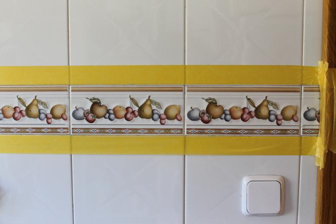 Diy renueva la encimera y azulejos de tu cocina con - Tapar azulejos cocina ...