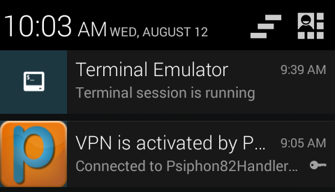 How To Make VPN Connection Stable Using Terminal Emulator