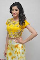 Richa Panai in Yellow Slim Fit Crop top ~ CelebxNext 022.JPG