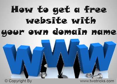 Free Domain Name and Web Hosting