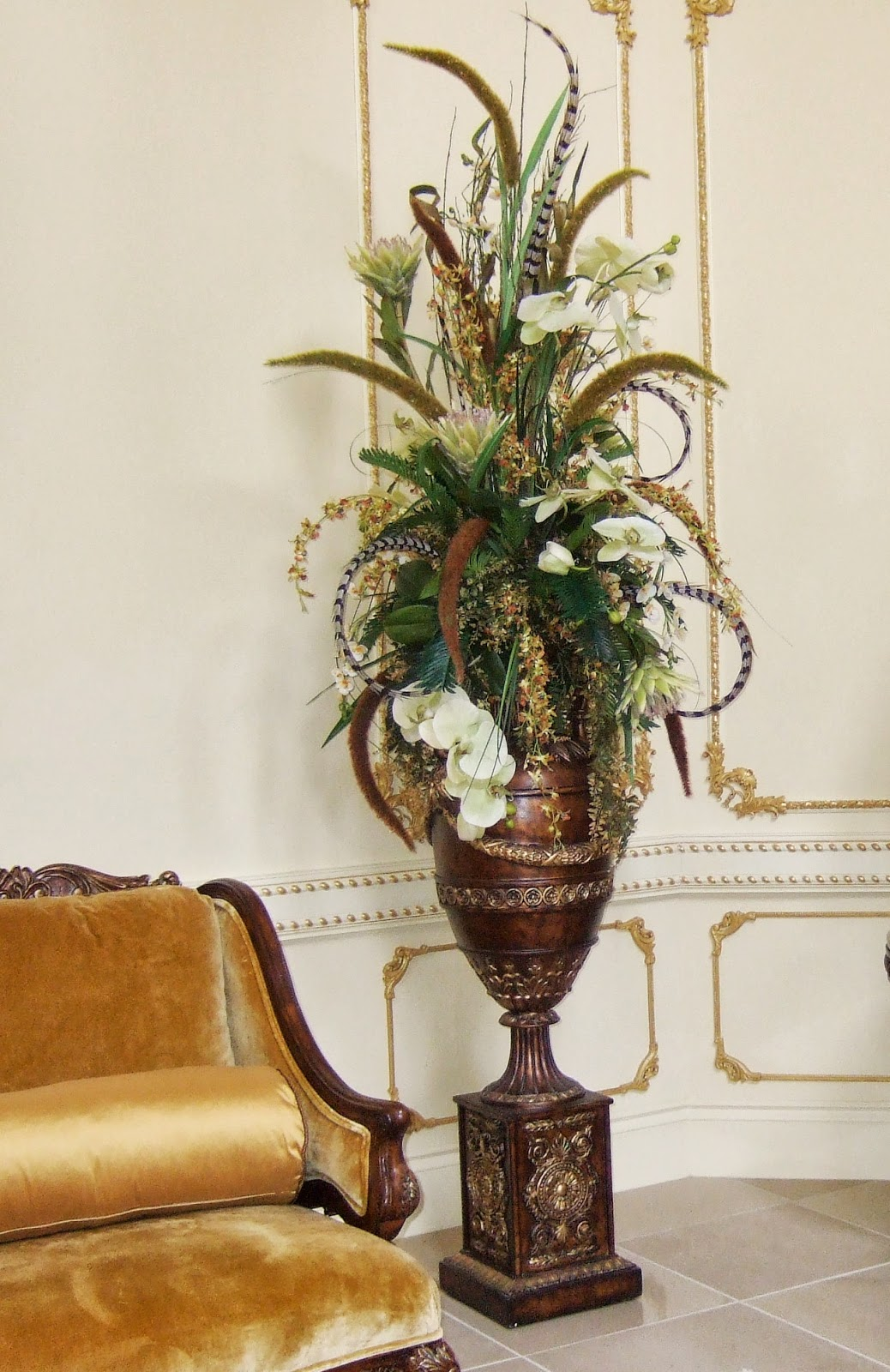 How To Make A Silk Floral Arrangement Ana Silk Flowers Ideas Elegant Traditional