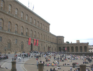 The Palazzo Pitti in Florence was the main residence of the Medici family from 1550