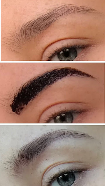 Kruidvat Brow Tattoo in Dark Brown