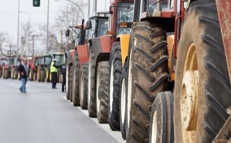 Οι αγρότες κατεβάζουν τα τρακτέρ στην Αθήνα