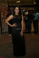 Wamiqa Gabbi in a sleeveless Black Designer Transparent Gown at 64th Jio Filmfare Awards South ~  Exclusive 098.JPG