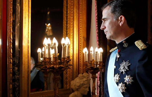 King Felipe and Queen Letizia, Leonor, Princess of Asturias and Infanta Sofía